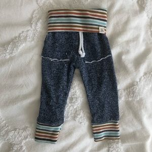 LuLu & Roo Baby Stripes SweatPants/Pants